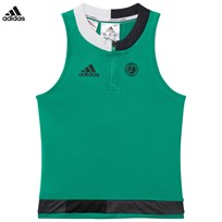 adidas Performance Green Roland Garros Tennis Top CORE GREEN