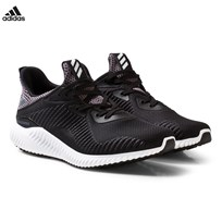 adidas Performance Black Alphabounce Junior Trainers CORE BLACK/FTWR WHITE/UTILITY BLACK F16