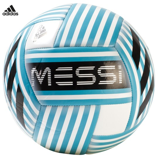 adidas Performance Messi Glider Football WHITE/ENERGY BLUE S17/BLACK/LIGHT GREY