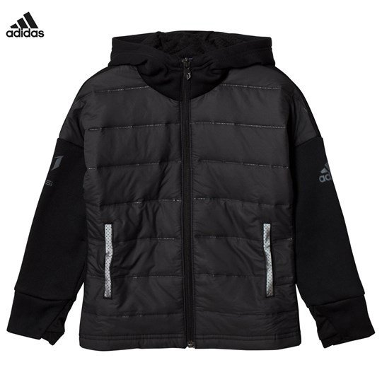 adidas Performance Black Messi Zip Jacket Black/Black