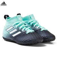 adidas Performance Blue Ace Tango 17.3 Turf Junior Football Boots ENERGY AQUA F17/FTWR WHITE/LEGEND INK F17