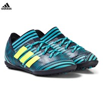 adidas Performance Navy Nemeziz Tango 17.3 Turf Junior Football Boots LEGEND INK F17/SOLAR YELLOW/ENERGY BLUE S17