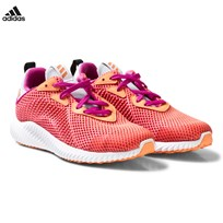 adidas Performance Coral Alphabounce Kids Trainers ENERGY INK F17/NOBLE INK F17/SOLAR RED