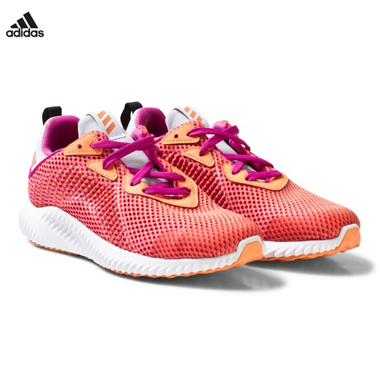 d33958583 adidas Performance Coral Alphabounce Kids Trainers ENERGY INK F17 NOBLE INK  F17 SOLAR RED