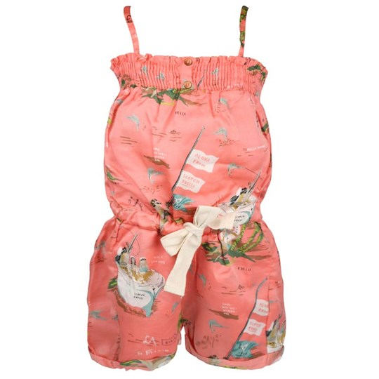 Scotch R'belle All Over Printed Beach Suit Pink