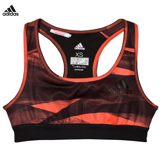 adidas Performance Printed Performance Training Sport BH Coral EASY CORAL S17/BLACK