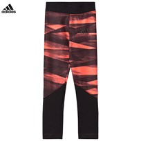 adidas Performance Performance Training Leggings Coral EASY CORAL S17/BLACK