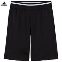 adidas Performance Black Training Cool Shorts Musta