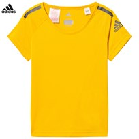 adidas Performance Yellow Training Cool Tee EQT YELLOW S16/BLACK
