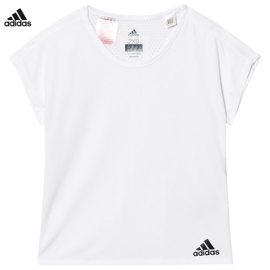 adidas Performance White Training Tee White