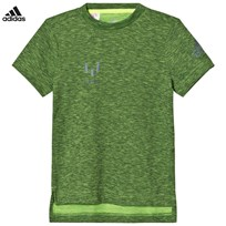 adidas Performance Yellow Messi Performance Tee SOLAR YELLOW