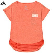 adidas Performance Coral Performance Tee EASY CORAL S17/EASY CORAL S17/SUN GLOW S16