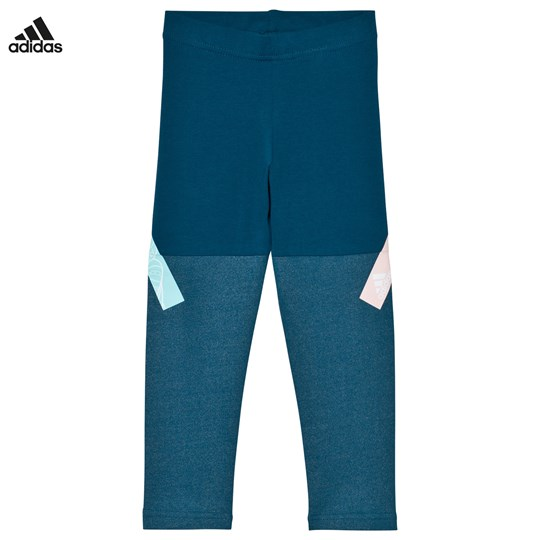 adidas Performance Disney Frozen Leggings PETROL NIGHT F17/ENERGY AQUA F17/ICEY PINK F17