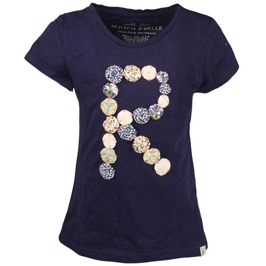 Scotch R'belle Worked Out Tee Styling Blue