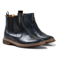 Pom Dapi Brother Jodzip Boots Navy Navy