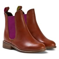 Tom Joule Tan Leather Chelsea Boots Tan