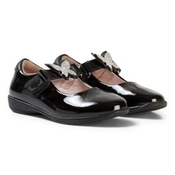 Lelli Kelly Angel Dolly Black Patent Shoes