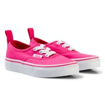 Vans Authentic Elastic Lace Shoes Hot Pink hot pink/true white