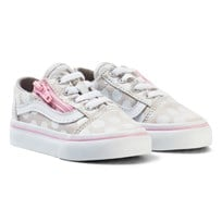 Vans TD Old Skool Zip (Polka Dot) wind chime/pink lady wind chime/pink lady