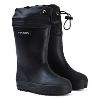 Tenson Muggy Lined Wellies Black Black