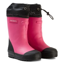 Tenson Muggy Lined Wellies Cerise Pink