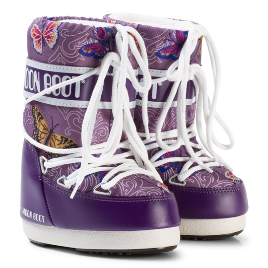 Moon Boot Butterfly Moon Boots Violet Violet