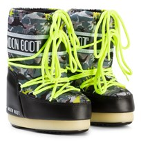 Moon Boot Moon Boot T-Rex Black/Green BLACK-GREEN