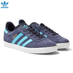 adidas Originals Midnight Grey Junior Gazelle Trainers