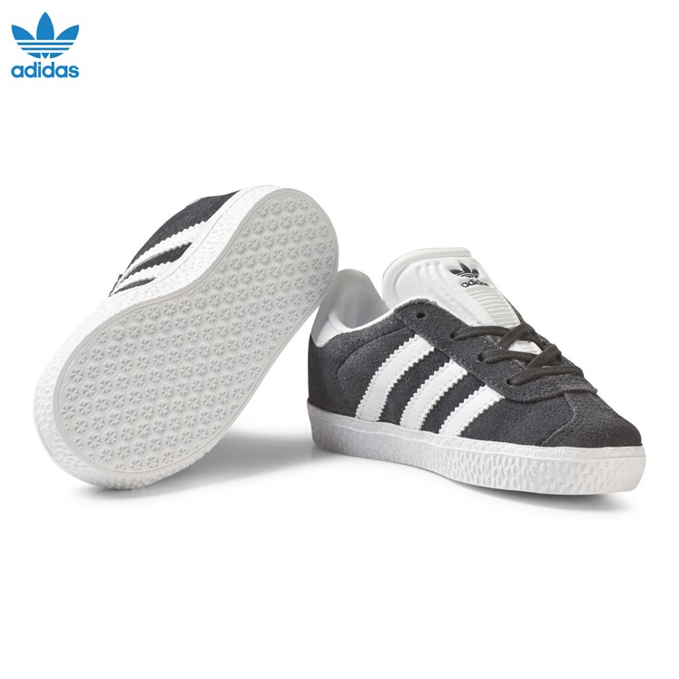 adidas Originals Black and White Gazelle Infant Trainers