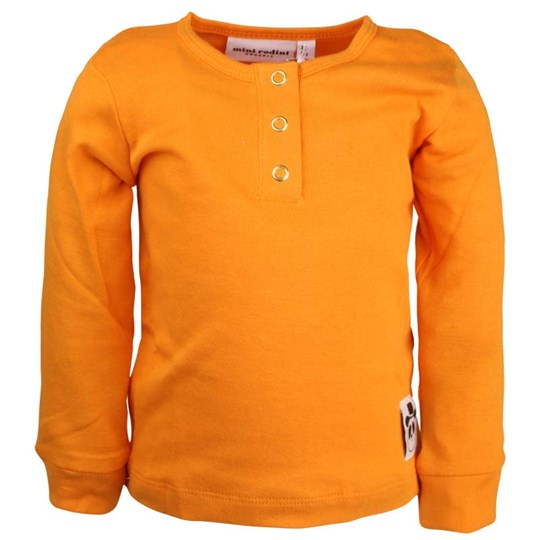 Mini Rodini Basic L/S Orange  Orange