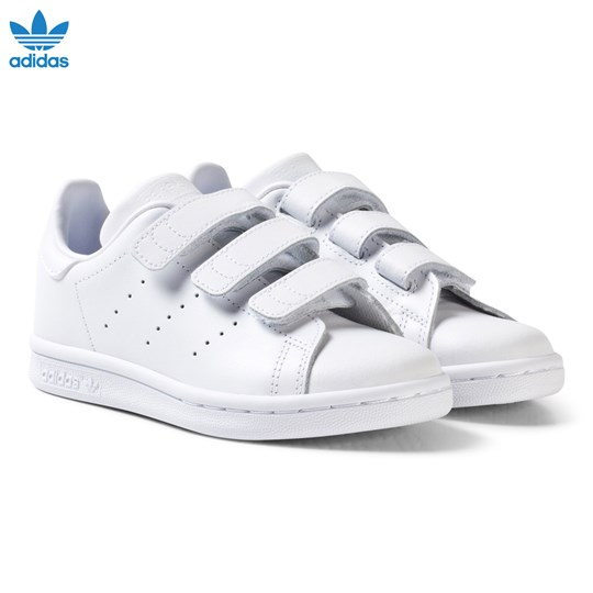 adidas Originals Stan Smith Velcro Sneakers Vit FTWR WHITE