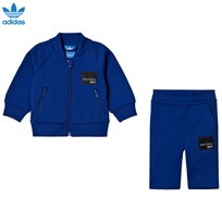 adidas Originals Blue Infants Equipment Sweatshirt Set MYSTERY INK F17