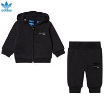 adidas Originals Black Infants Equipment Hoodie  Set Black