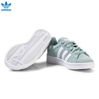 adidas Originals Green Kids Campus Trainers TACTILE GREEN S17/FTWR WHITE/FTWR WHITE