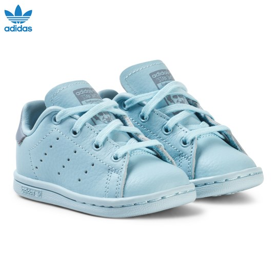 adidas Originals Blue Infants Stan Smith Trainers ICEY BLUE F17/ICEY BLUE F17/TACTILE BLUE S17