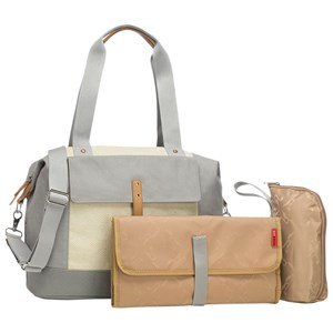 Image of Storksak Jude Convertible Shoulder Bag/Backpack Grey (3135228015)