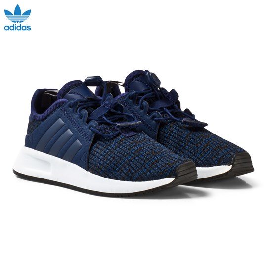 adidas Originals X PLR Kids Sneakers Marinblå DARK BLUE/DARK BLUE/FTWR WHITE