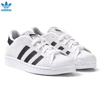 adidas Originals White and Black Superstar Kids Trainers FTWR WHITE/CORE BLACK/CORE BLACK