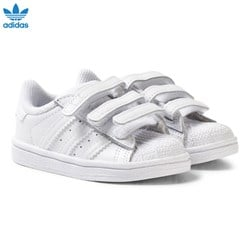 adidas Originals White Superstar Infant Trainers