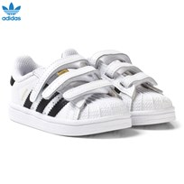 adidas Originals White and Black Superstar Infant Trainers FTWR WHITE/CORE BLACK/FTWR WHITE