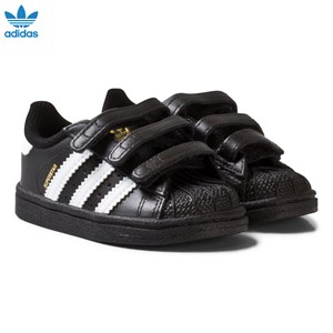 Image of adidas Originals Black and White Superstar Infant Trainers 22 (UK 5.5) (3125354261)