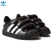 adidas Originals Black and White Superstar Infant Trainers CORE BLACK/FTWR WHITE/CORE BLACK
