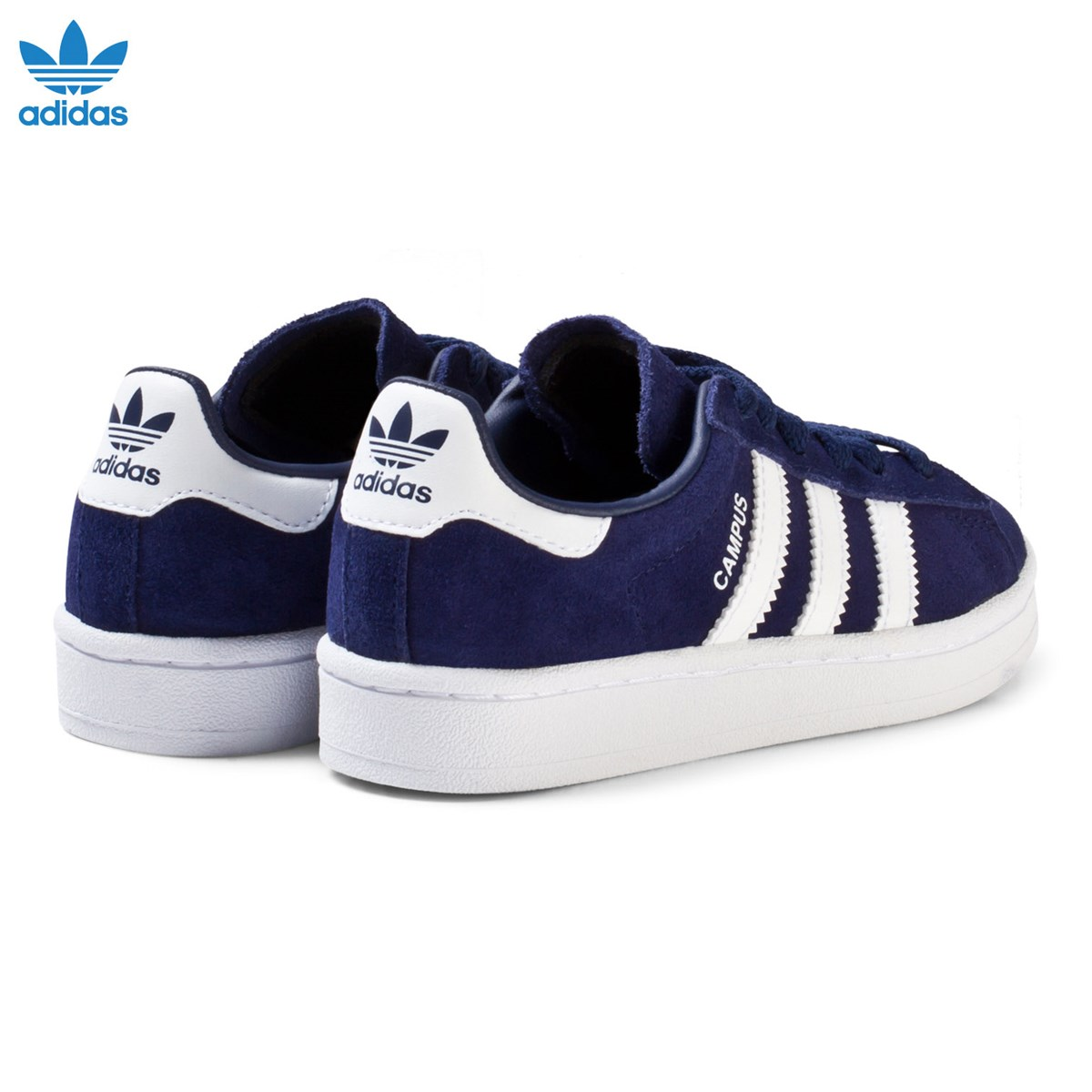 finest selection e1745 18202 ... authentic adidas originals navy kids campus trainers babyshop.dk aeb4c  e8b3c