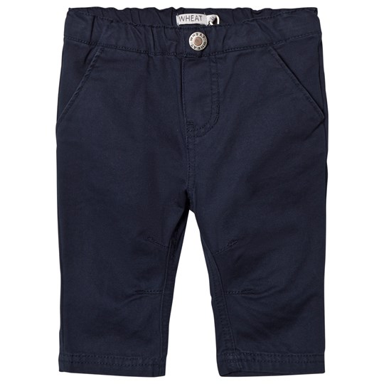 Wheat Noah Trousers Navy Laivastonsininen