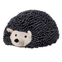 Kids Concept Edvin Hedgehog Pouf Seat Black