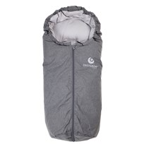 Easygrow Mini Footmuff Grey Melange Black