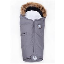 Easygrow Nature Footmuff Solid Grey Black