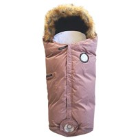Easygrow Nature Footmuff Pink Rose Pink