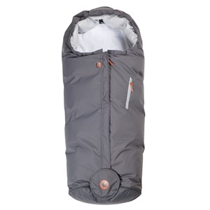Image of Easygrow Hood Footmuff Grey Solid (3061220275)