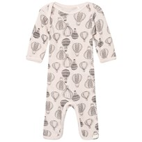 Celavi Wool Baby One-Piece Pink Pink